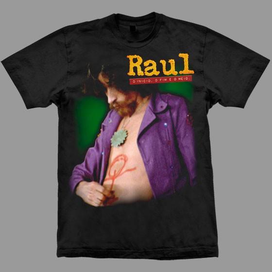 """Camiseta Oficial """"Raul - O início, o fim e o meio"""""""