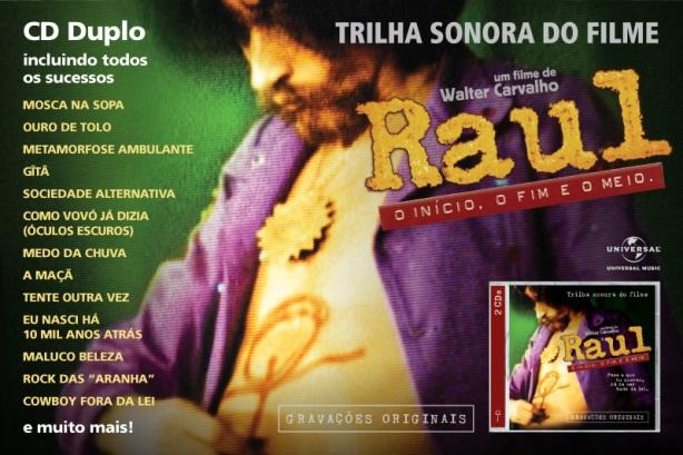 """Trilha Sonora """"Raul - O início, o fim e o meio"""""""