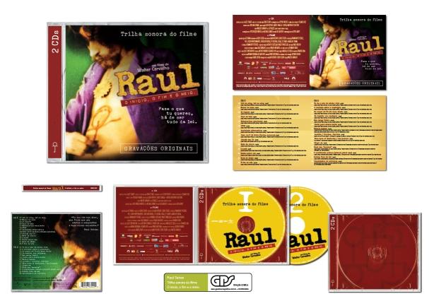 CD DUPLO com a TRILHA SONORA - 28 GRAVAÇÕES ORIGINAIS