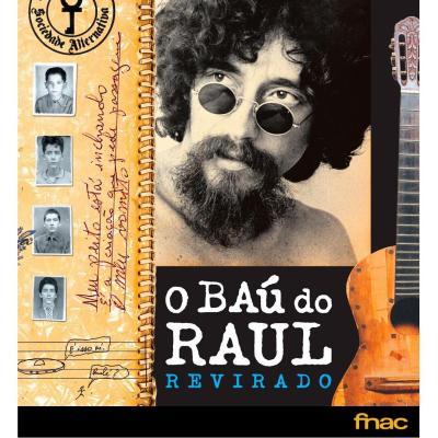 BAÚ DO RAUL REVIRADO - EDIÇÃO LUXO COM CAPA DURA - EXCLUSIVIDADE FNAC.